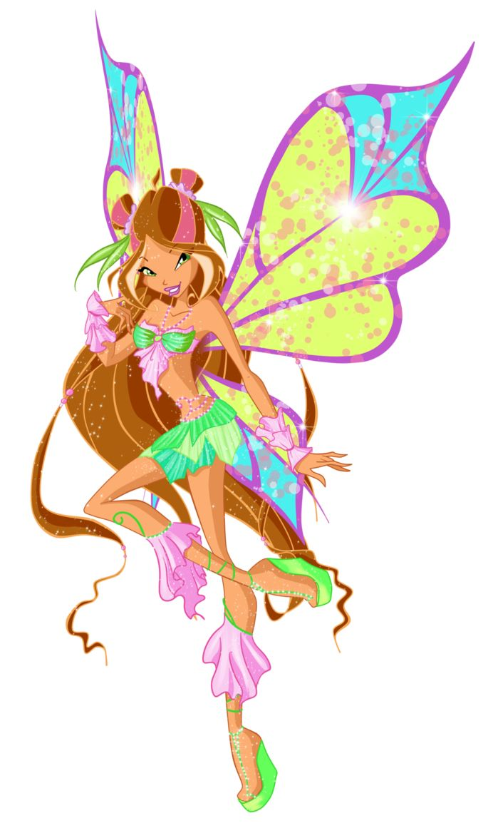 Winx Club: Flora! Flora is the Guardian Fairy of Nature from Linphea and one of the founding members of the Winx Club and a former student at Alfea College for Fairies. She was the third Winx girl introduced, after Bloom and Stella. The team relies on her for potions and advice.