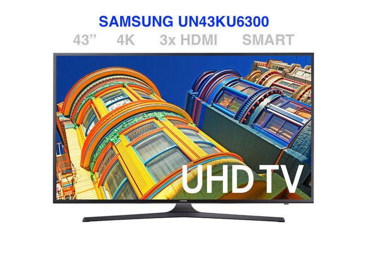 Samsung UN43KU6300 43 4K UHD LED TV 120 MR