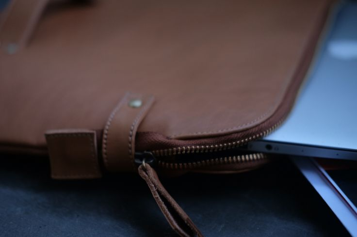 "Macbook 13 "" Leather Case"