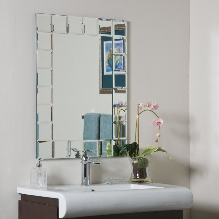 Youll Love The Antonio Rectangle Beveled Wall Mirror At Wayfair
