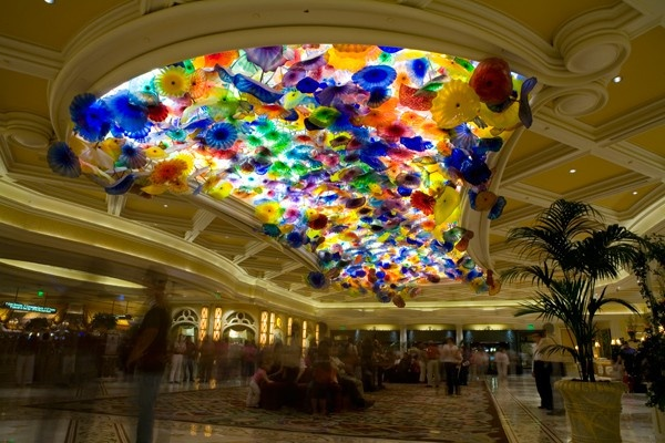 Hand N Glass Chandelier Bellagio Hotel Las Vegas Nv Overseas Travel Pinterest Dale Chihuly And Ceiling