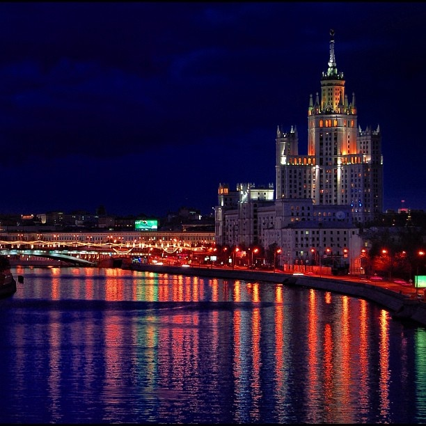 "@annakur's photo: ""Night Moscow""Night Moscow, Annakur Photos, Soviet Republic"