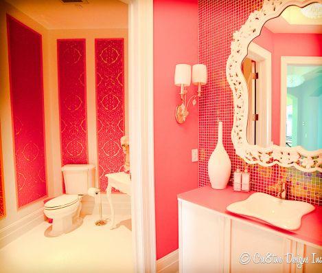 1000 ideas about orange bathrooms on pinterest burnt for Pink and orange bathroom ideas