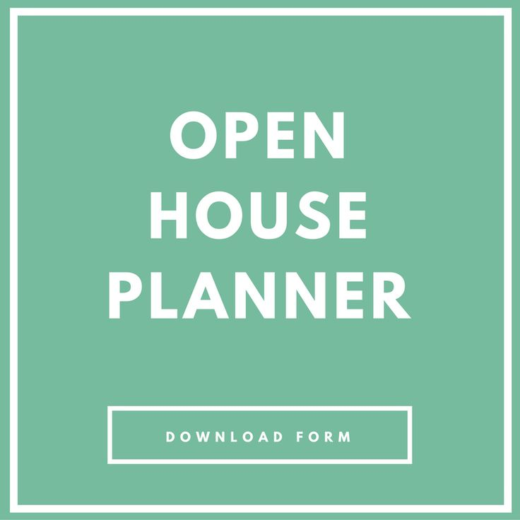 Open House Planner | Forms and Printables for Real Estate Success - Real Estate Marketing | Real Estate Agent | Real Estate Leads | Real Estate Tips | Real Estate Leads | Real Estate Branding | Real Estate Ideas | Real Estate Buyers