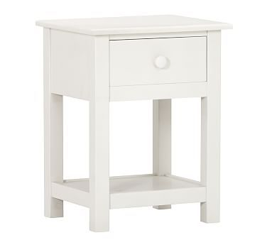 Kendall Nightstand, Simply White