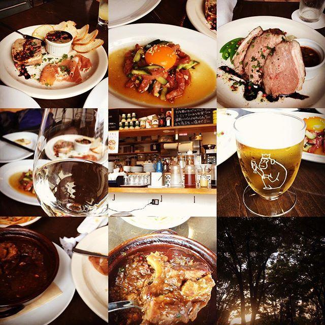 友人のお店の新コースメニュー 「肉だらけパーティーコース 飲み放題付 ¥6500」の試食会に参加してきました。 コースのほとんどが肉料理という超贅沢な内容。  肉前菜3品盛り合わせ(パテ・生ハム・レバーペースト) 生ハムとパルミジャーノのサラダ  よだれ鶏 香味レモンソース  黒豚生ハムのユッケ  トリッパと牛スジの赤ワイン煮込  ラム肉コンフィのグリル チミチュリソース  ミートラグソースのパスタ  この値段で飲み放題付きというのが心配になりますが、後悔はしないできないさせられないという感じの内容でした!  #ハリィ永田 #ハリィのお気に入り #mcguffin #コースメニュー #肉 #撮る前に食い荒らしたもの幾つか #肉食男子 #コスパ最高 #箕面ビール