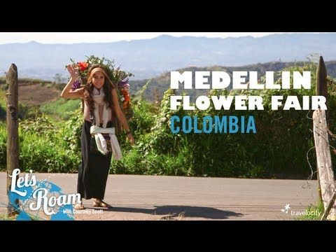 Making Silletas for the Medellin Flower Fair | Let's Roam Colombia with Avianca. Come and visit us at www.Going2Colombia.com
