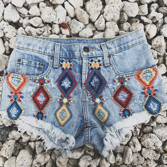 LF Carmar Denim Tribal Shorts New with tags! Size 24. Originally $238! Bought from LF. By Carmar. LF Jeans