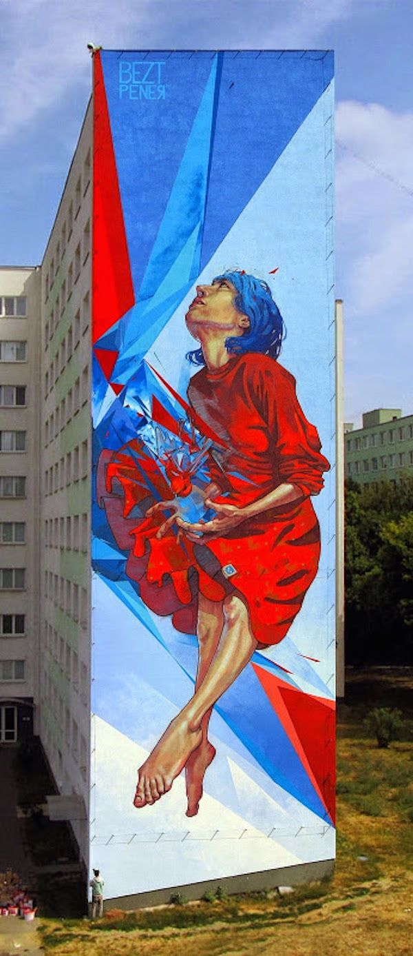 Wall art graffiti - Amazing Graffiti Artists Take Over Entire Buildings To Create These Incredible Murals