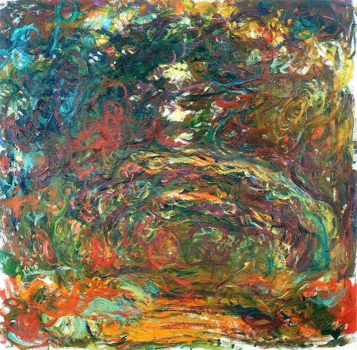 Path under the Rose Arches, Giverny, 1922, Claude Monet