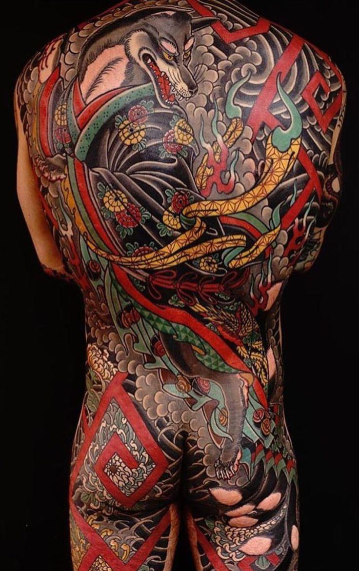 Japanese calf tattoos by durb - Tattoo Japanese Tatoo