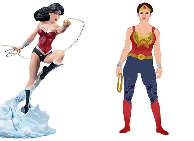 12 Women Superhero Costumes Redesigned by Women: Wonder Woman | Buzzfeed, love this!