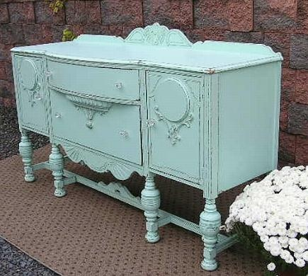 Buffet Server Sideboard ~ Shabby Chic Furniture Accessories VPU