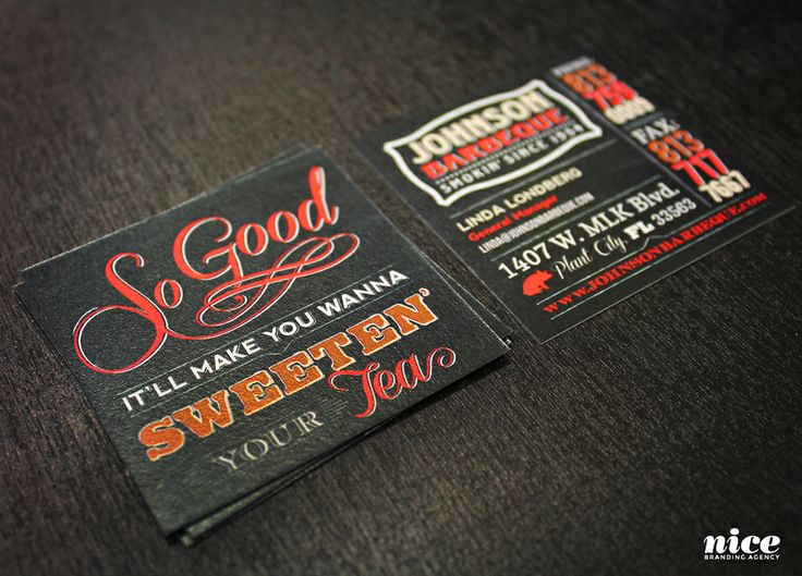17 best images about nice business cards on pinterest for Bbq business cards