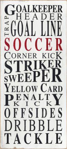 Soccer Goalkeeper Print at Art.com