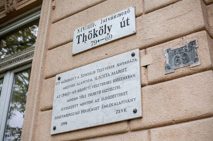 Új emléktábla a volt nyilas pártházon