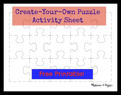 Free printable puzzle for kids from Melissa & Doug