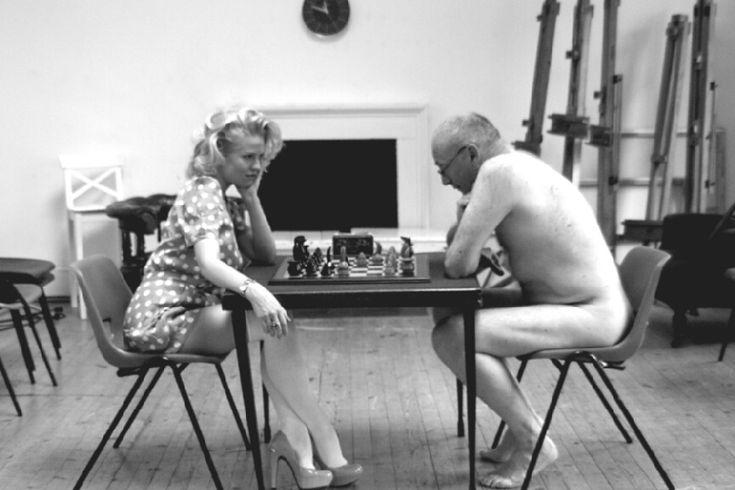 a chess set