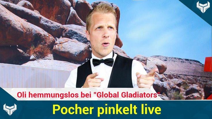 """Geht Oliver Pocher (39) in der ProSieben-Show Global Gladiators etwa zu weit? Die Promis müssen sich bei diversen Spielen beweisen und ihren inneren Schweinehund überwinden. Oli hat es jetzt aber auf die Spitze getrieben: Er pinkelt vor laufenden Kameras in die Wüste!   Source: http://ift.tt/2rQO0V7  Subscribe: http://ift.tt/2sjNiSQ pinkelt live: Oli hemmungslos bei """"Global Gladiators"""""""