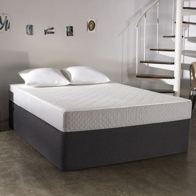 "Features:  -2"" of gel-infused memory foam gently contours to your body and promotes the optimal sleep temperature.  -6"" of support foam provides stability and ensures that the mattress never requires"