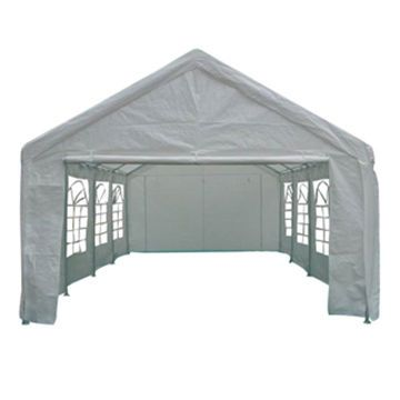carport with one wall | Carport Tent, Made of Polythene with Walls, Ø42 x 1.2mm Connector on ...