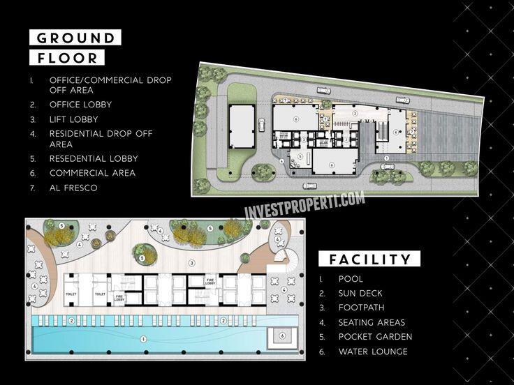 Siteplan Ground Floor SOHO The Smith Alam Sutera