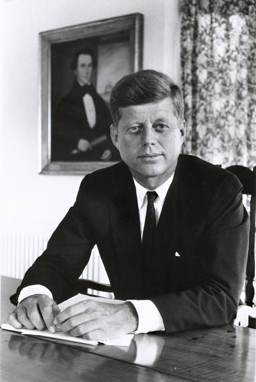 John F. Kennedy by Alfred Eisenstaedt                                                                                                                                                     More