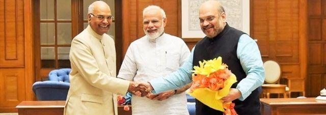 #TeluguNow.com Great Responsibility, Says Ram Nath Kovind, New President Of India Read Full Article..