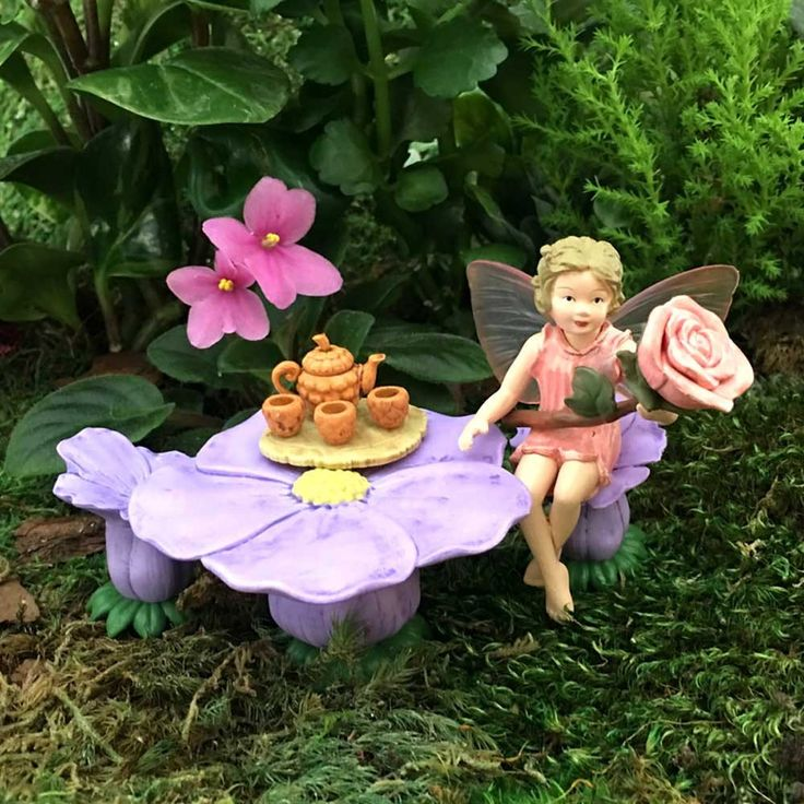 Flower Fairies Rose Flower Fairy Gift Pack-Toy Universe