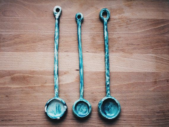 Ceramic spoon by GungaCeramics on Etsy