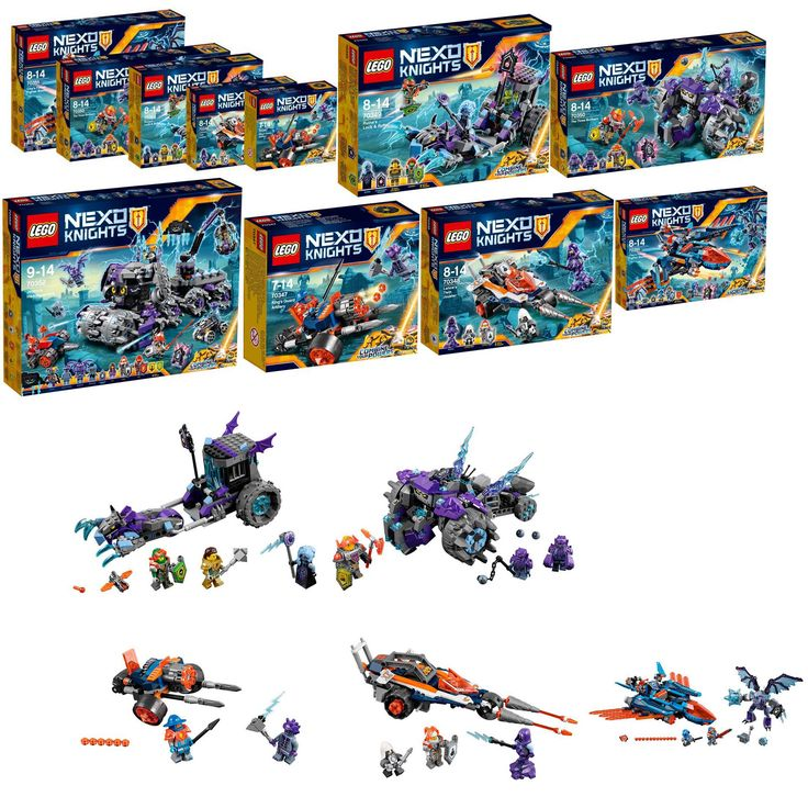 https://flic.kr/p/P2DsM6 | Lego Nexo knights 2017 | Hello lego fans OMG !!! brickset strike again  Please find a global view of all the new nexo knight 2017 set present by brickset thanks !!!! 70347 King's Guard Artillery 70348 Lance's Twin Jouster 70349 Ruina's Lock & Roller 70350 The Three Brothers 70351 Clay's Falcon Fighter Blaster 70352-1: Jestro's Monstrous Monster Vehicle  minifig are just awsome (for the set it's not my favourite serie ) but all the minifigurines look just terrific a