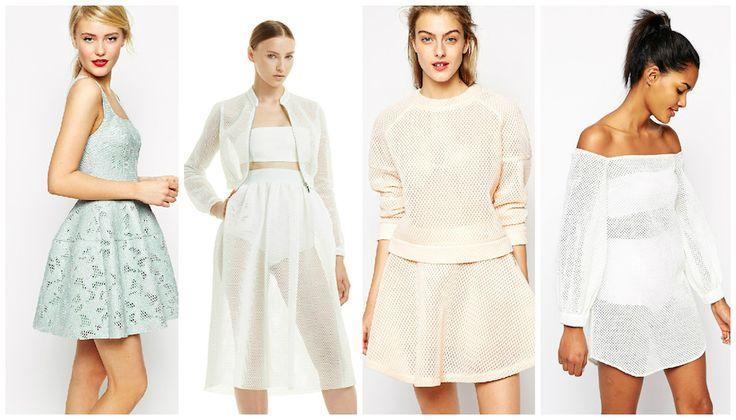 Trend-abiti-vestiti-accessori-rete #net #rete #summer #fashion #trend #vacations #beachwear