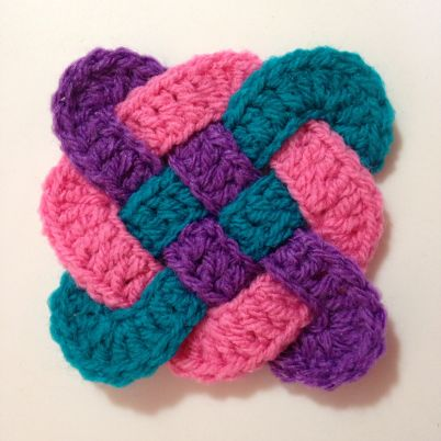 Make an Awesome Crocheted Celtic Knot