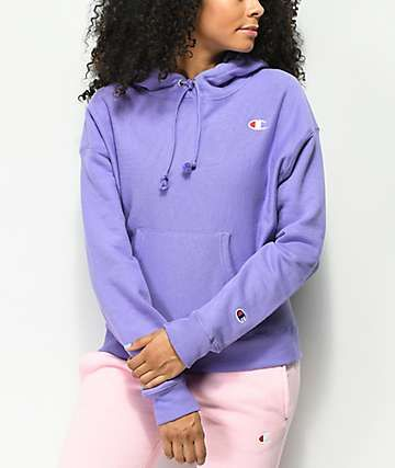 2e375509633 Champion Reverse Weave Iris Purple Hoodie in 2019