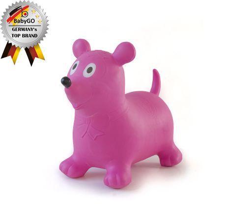 Babygo-BGO-92010-Animalut Gonflabil Soricica Cea Roz
