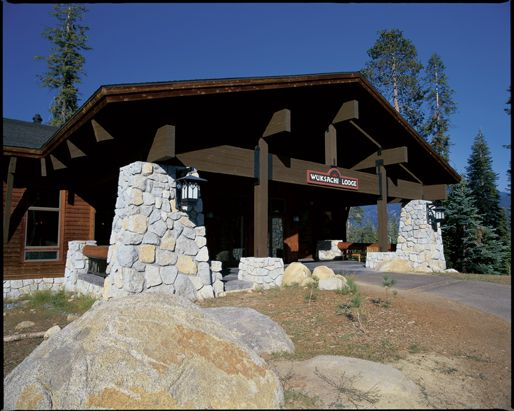 Sequoia California Lodging Wuksachi Lodge National Park