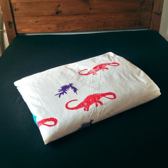 Dinosurus bedding set by mamamasza on Etsy