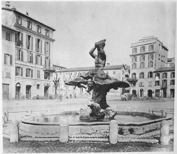 Piazza Barberini 1867