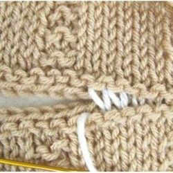Technique | Horizontal Stockinette Stitch Invisible Seam tutorial