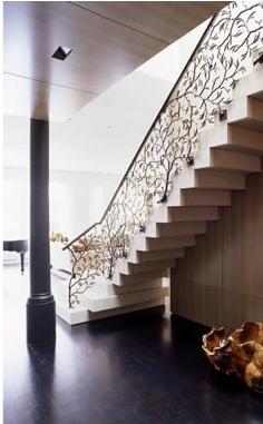 beautiful custom interior stairways. Beautiful Stair Railing Custom Interior Stairways