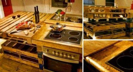 nabytok z paliet pouzity v kuchyni 25