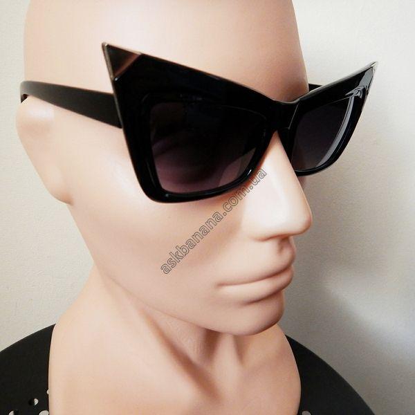 Сексуальные солнцезащитные очки Cat Eyes. Черные: цена, описание, купить - askbanana.com.ua - Он-лайн магазин АскБанана, здесь можно купить солнцезащитные и имиджевые очки, флеш тату, косметику, кисти для макияжа, Apple iPhone чехлы, бижутерию, браслеты, спорт товары, подсветку колес, гаджеты, подарки с доставкой по всей Украине