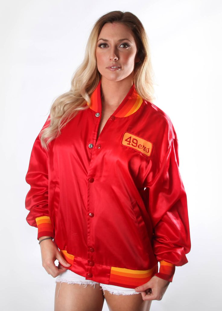 49ers Jacket  #SanFrancisco49ers #49ers #SF49ers