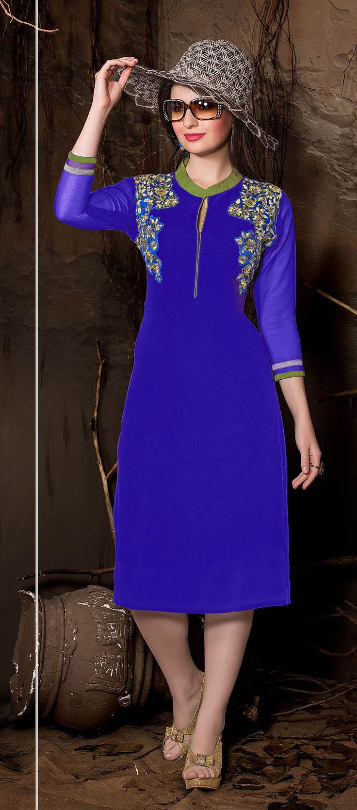 Get huge collection of innara trendz designer kurtis for women from Bollywoodkart at best prices.