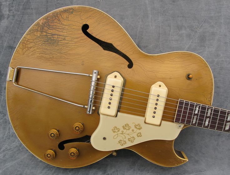Mid-50's Gibson ES-295.  Scotty Moore.  Enough said.