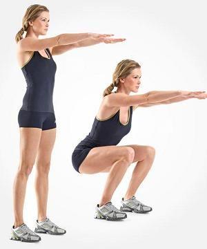 Przysiady http://workout-polska.pl/Article-51-Kalistenika-Trening-w-domu-Pocztkujcy