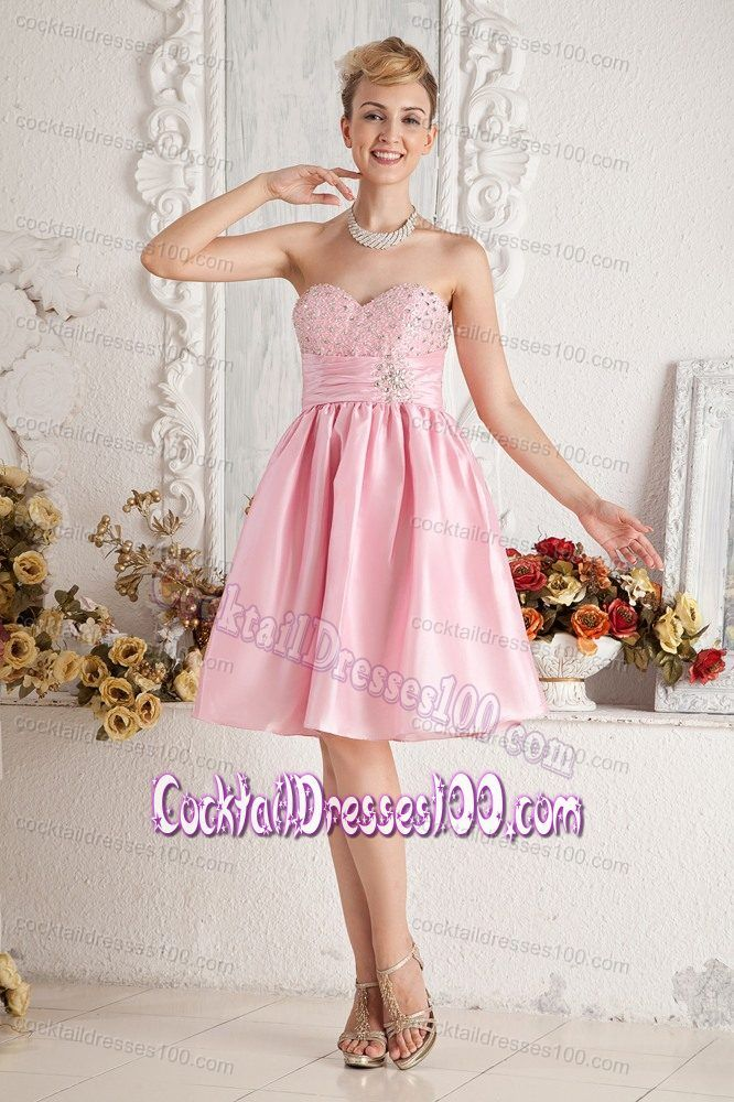 10 best Lovely Baby Pink Cocktail Dresses images on Pinterest   Prom ...