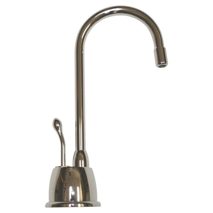 Whitehaus Collection Forever Hot Single-Handle Instant Hot Water Dispenser in Polished Chrome