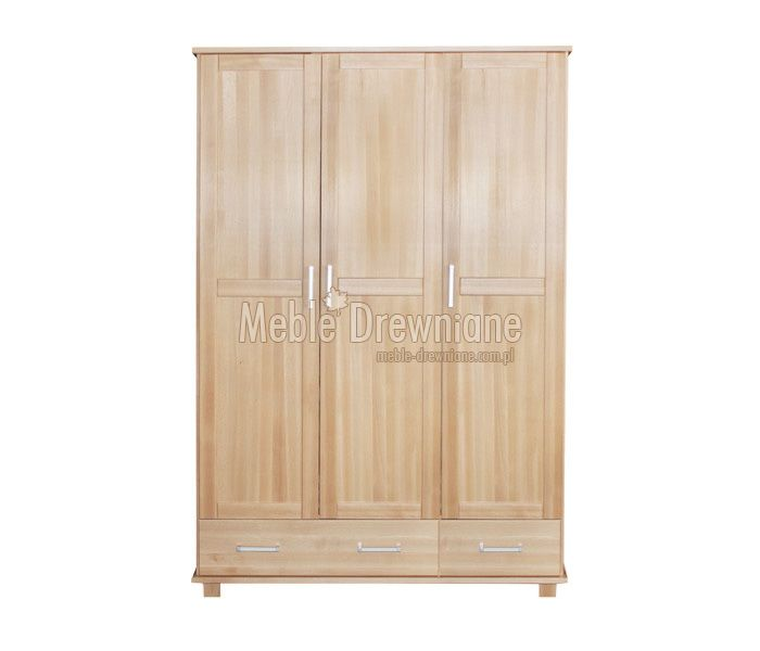 #szafa #buk Szafa bukowa [b3] Meble Drewniane - meble sosnowe producent