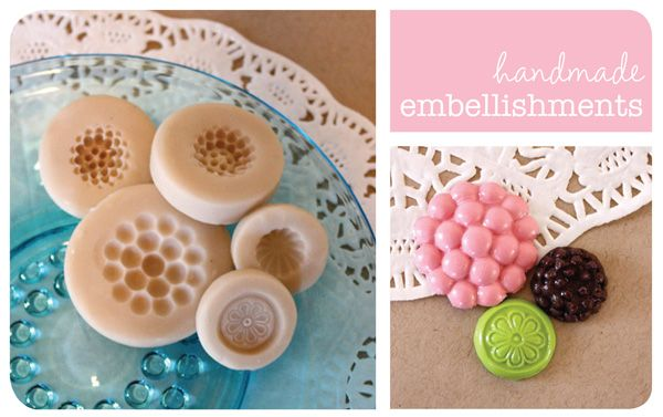 handmade embellishmentsKrcreations Blogspot Com, Jewelry Inspiration, Clay Fimo, Handmade Embellishments, Sculpy, Moldings Maker, Polymer Clay, Sculpey Moldmaking, Moldmaking Embellishments